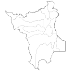 Map of the state of Roraima