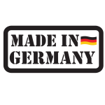 Made in Germany product label