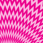Zigzag pattern pink color