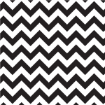 Zigzag pattern black and white stripes