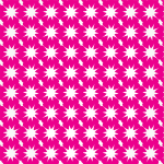 Pink background with geometric pattern