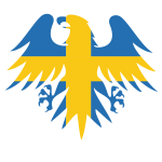 Swedish flag heraldic eagle