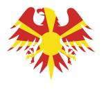 North Macedonia flag heraldic eagle