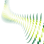 Halftone pattern green color