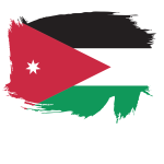 Flag of the Kingdom of Jordan