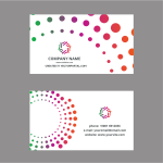 Business card template (#4)