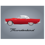 Thunderbird car model 1957