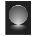 1 Silver Sphere