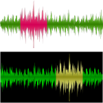 Vector graphics of a musical equalizer