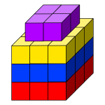 Cube tower image