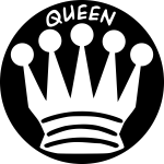 Queen chess figure image
