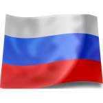 Flag of the Russian Federation vector clip art