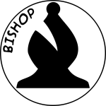 Chess piece with name