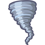9va Cartoon Tornado