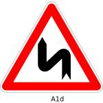 Double curve sign