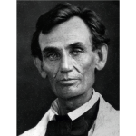 Abraham Lincoln by Abraham Byers 1858