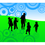 Abstract children background