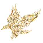 Abstract Eagle Gold