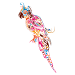 Abstract Parrot-1594905514