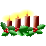 Third Sunday in advent vector image
