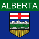 Alberta symbol vector graphics