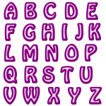 Alphabet16Purple