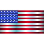 American Flag Enhanced 2