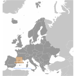 Andorra location label