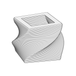 Animated Rotating 3D object