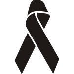Illness awareness ribbon.