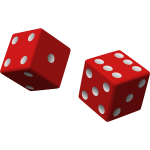 Two red dice-1573819977