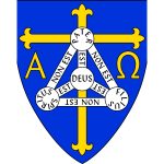 Vector image of coat of arms of Anglican diocese of Trinidad