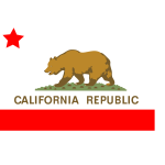 California state vector flag