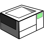 Printer vector icon