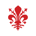 Vector coat of arms of Florence City