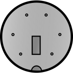 Connector for PlayStation 2 vector image