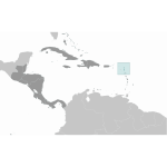 Antigue and Barbuda location