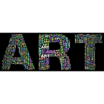 Art Fractal Typography