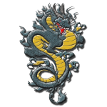 Asian Style Detailed Dragon