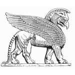 Assyrian winged lion