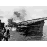 Attack on carrier USS Franklin 19 March 1945 2016122105