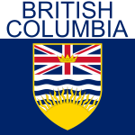 British Columbia symbol vector drawing