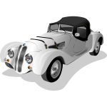 Photo-realistic vintage car vector