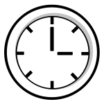 BPM time symbol vector illustration