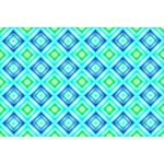 Background pattern with green and blue hexagons