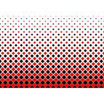Background pattern with red hexagons