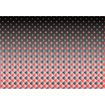 Background pattern with colored hexagons