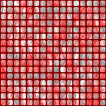 Wallpaper with red squares