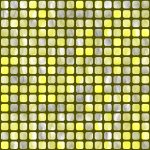 Yellow and gray squares pattern