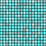 Background pattern with water squares